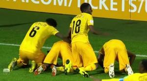 Mali acaricia los octavos de final. Captura/beIN Sports