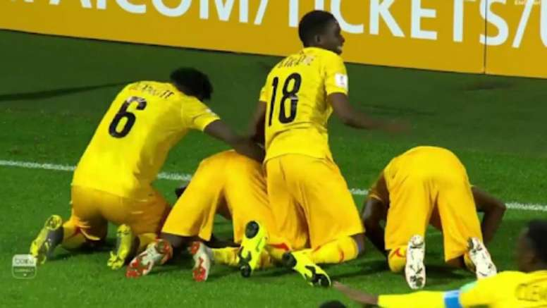 Mali got a last minute winner over Saudi Arabia. Captura/beIN Sports