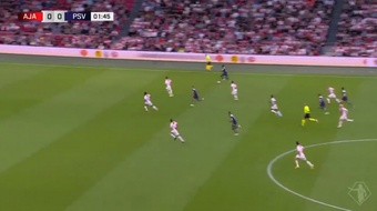 El PSV pasa por encima del Ajax y se lleva la Supercopa. Twitter/ESPN