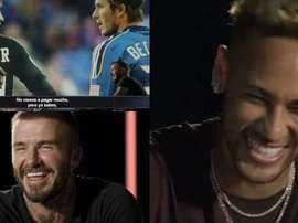 El inglés provocó las risas de Neymar. Captura/ESPN