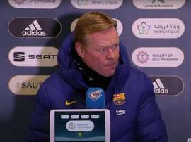 Koeman in conferenza. RFEF