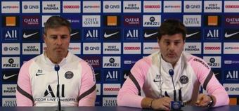 Pochettino confía en que Messi llegue a tiempo a la Champions. Captura/Twitter/Paris Saint-Germain