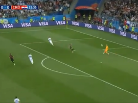 Rebic took advantage of a howler from Caballero.