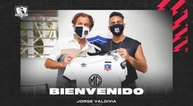 OFICIAL: Jorge Valdivia vuelve a Colo-Colo. Twitter/ColoColo