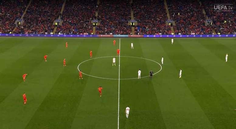 Sigue el directo del último día de la fase de clasificación a la Eurocopa. Captura/UEFATV