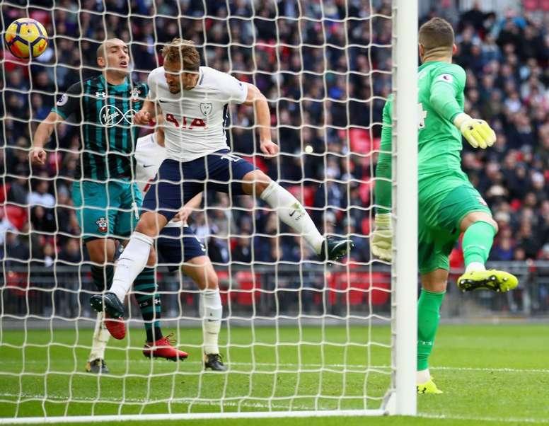 Harry Kane a ouvert la marque face à Southampton. ESPN