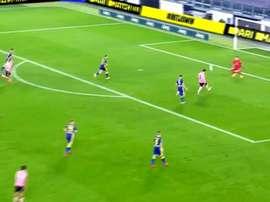 Pareggio della Juventus allo Stadium. beINSports