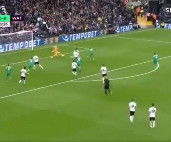 But de Gray. Capture/SportTV