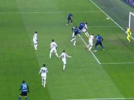 Vidal porta in vantaggio l'Inter. MovistarLigaCampeones
