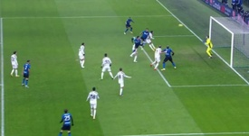 Vidal marcó el 1-0. Captura/MovistarLigadeCampeones