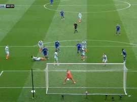 Kepa puso contra las cuerdas al Chelsea. Captura/SkySports