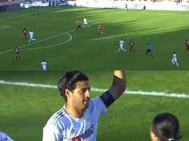 Vela alarga su espectacular marca: 17 goles en 17 partidos. Twitter/LAFC
