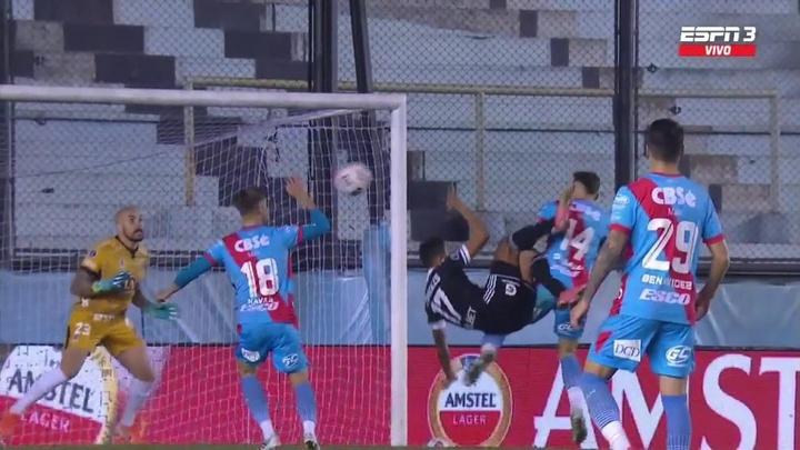 Para enmarcar: ¡el golazo con el que Sporting Cristal selló su pase a cuartos! Captura/ESPN