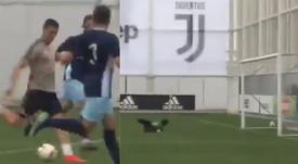 Cristiano Ronaldo sigue mostrando olfato de gol. Captura/pablo_90_7