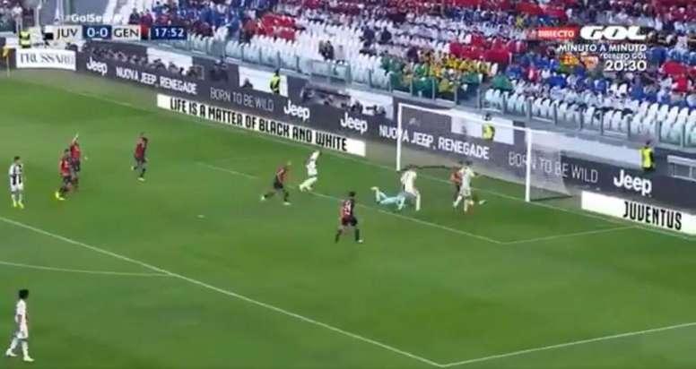 Cristiano a ouvert le score. Capture7GolTV