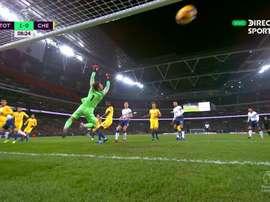 Le but de Kane. Capture/DirectTVSport