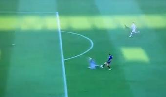 Dzeko marcó el 2-0. Captura/SkySport