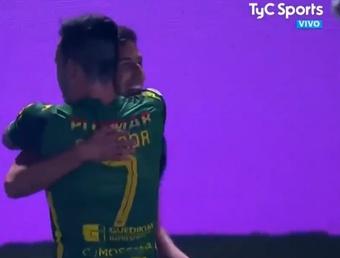 Aldosivi venció por la mínima ante Platense. Captura/TyCSports