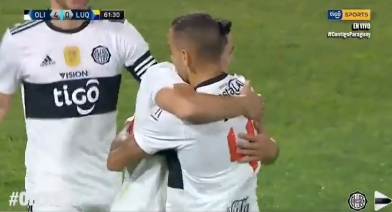 Olimpia se cebó con Sportivo Luqueño: ¡le metió siete goles! Captura/TicoSports