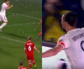Ibrahimovic a inscrit le but de la victoire. Twitter/FutbolMLS