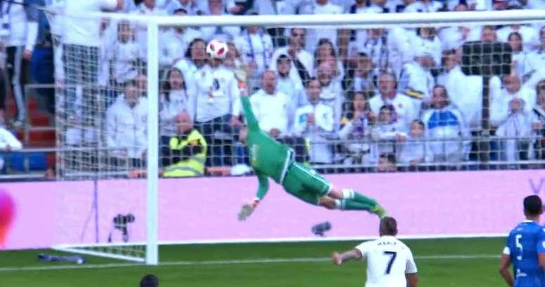 Isco inscrit le but du 4-0. Capture/BeINSports