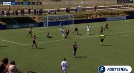 Resumen del Valladolid B-Salamanca CF del Grupo I. Captura/Footters
