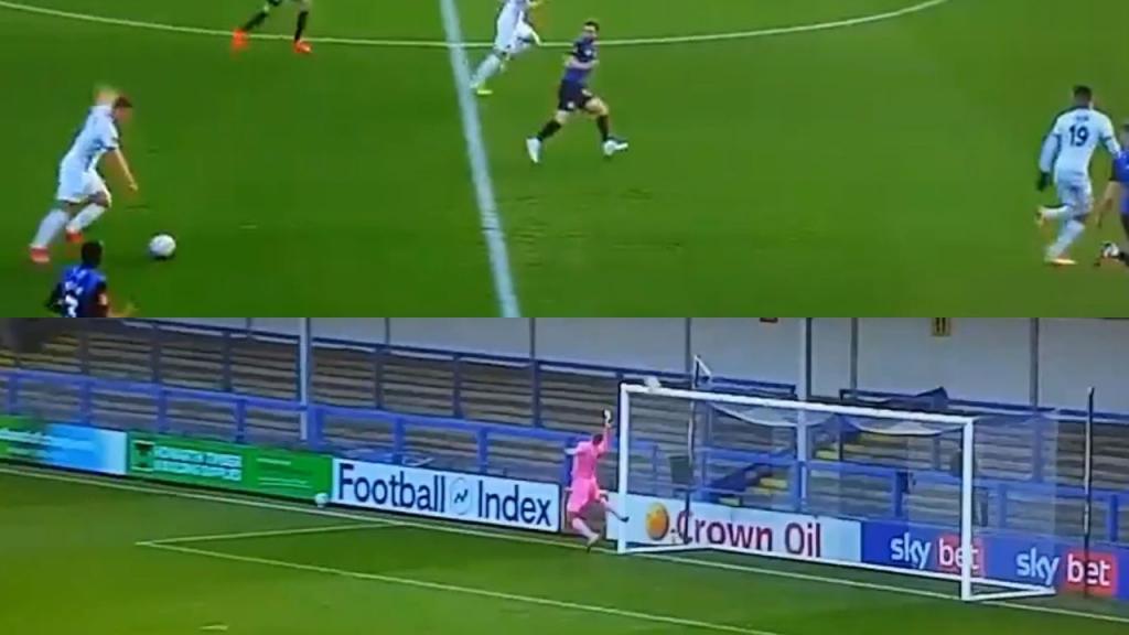 Lo lleva en la sangre: el espectacular gol de mediocampo de otro Rooney -  BeSoccer