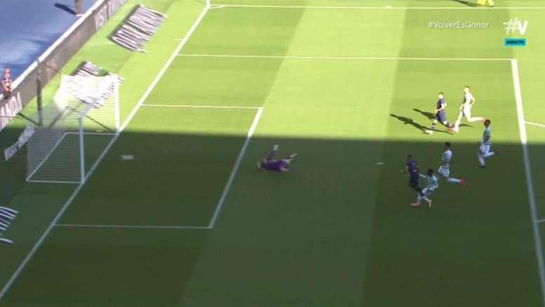 Kylian Mbappé marcou o primeiro gol do PSG contra o Celtic. Captura/Vamos