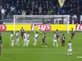 El jugador del Torino anotó un golazo espectacular. Twitter