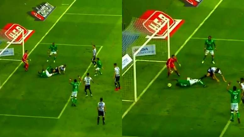 Felipe Mosquera rescató un punto valioso. Captura/FoxSports