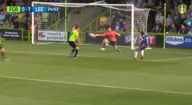 Dix touches de balles avant le but de Leeds. Twitter/ElevenSportsUSA