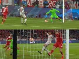 Matip's own goal. Screenshots/BTSport