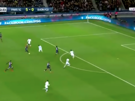 Messi completed his hat-trick with a stunning solo strike. Captura/beINSports