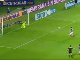 El centrocampista anotó un tanto de bandera ante Rosario Central. Twitter