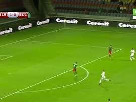 El extremo bielorruso firmó uno de los goles de esta fase de clasificación. Twitter