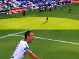 Ulloa volvió a ver puerta con Pachuca. Captura/FoxSports