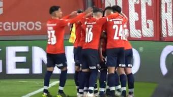 Independiente vuelve a bailar en la cima de Argentina. Captura/TNTSports