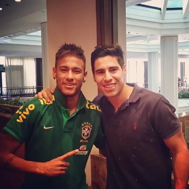 Molina has retired from professional football. Instagram/Neymar