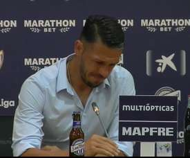 Martin Demichelis annonce sa retraite dans les larmes. MálagaCF/Youtube