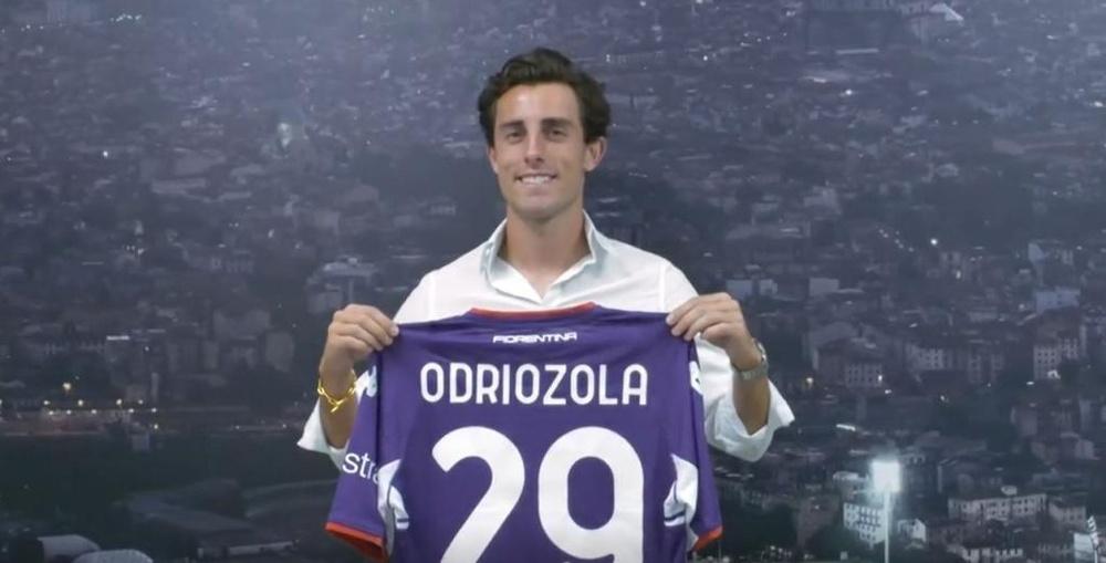 Odriozola alla Fiorentina. Fiorentina