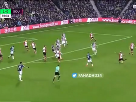 Grande gol de Lemina. Captura/beINSports