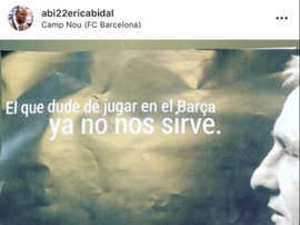 L'énigmatique message d'Abidal, adressée à De Ligt ? Instagram/Abi22ericabidal