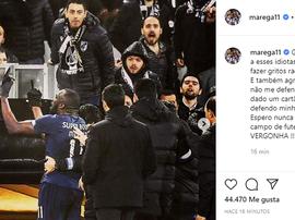 Marega reage aos insultos, critica árbitro e racistas. Instagram/marega11