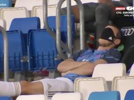 A imagem de Bale que enfurece o madridismo. Captura/GolTV