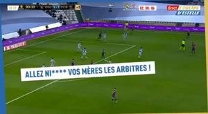 O insulto de Dembélé que os árbitros não entenderam. Captura/lequipedestelle