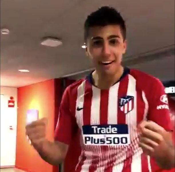 El Atlético se impuso al Athletic por un gol en el 90'. Twitter/Atleti