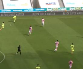 El Newcastle arrancará la Premier contra el West Ham. Captura/NUFC