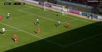 El Tottenham no pudo pasar del empate 1-1 en su primer test. Captura/TottenhamHotspur