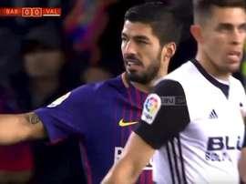 Suarez insulted Paulista. beINSports