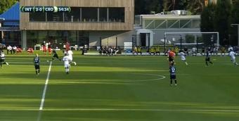 El Inter se impuso al Crotone. YouTube/Inter